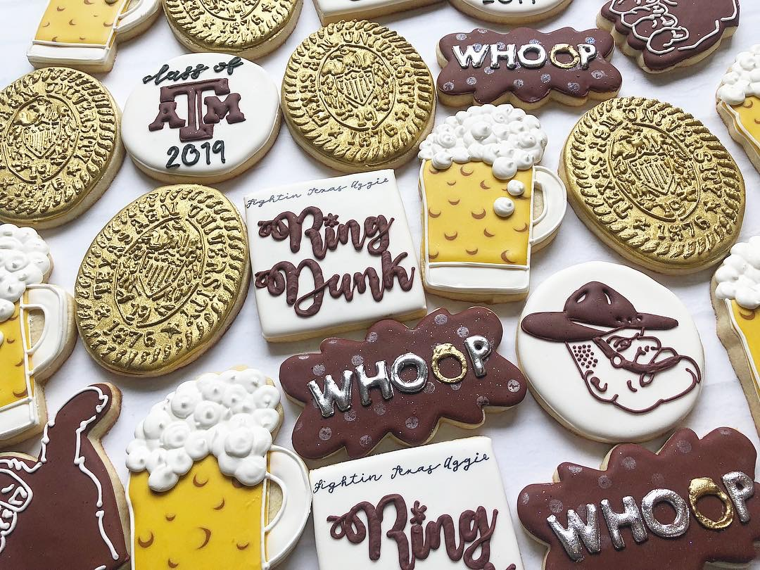 Aggie Ring Dunk Cookie